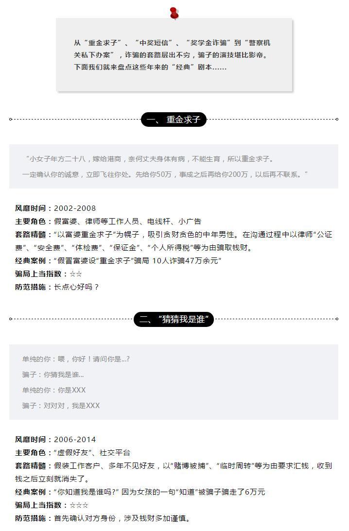 """【網絡謠言粉碎機】詐騙圈""""經典""""劇本盤點,你中過哪些招?"""