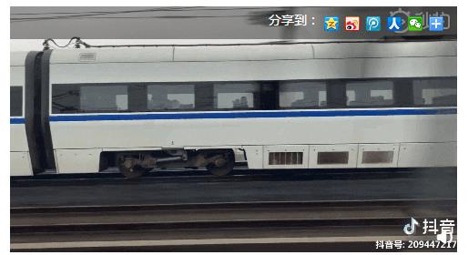 """網絡謠言粉碎機 倆高鐵""""飆車""""?@中國鐵路終于說話了"""
