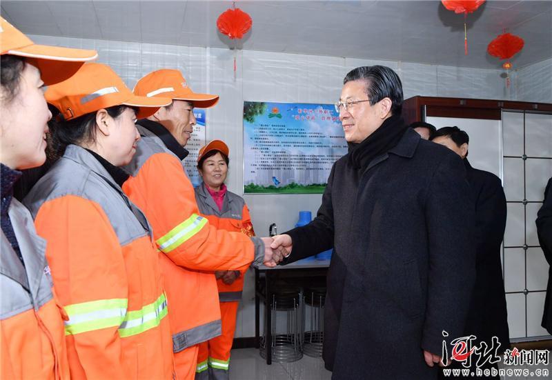 王东峰在石家庄走访慰问一线干部职工和科技工作者