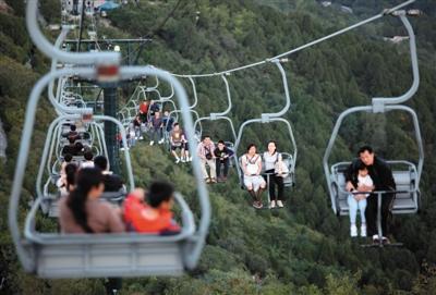 春节期间北京市属公园接待游客市民232万人次