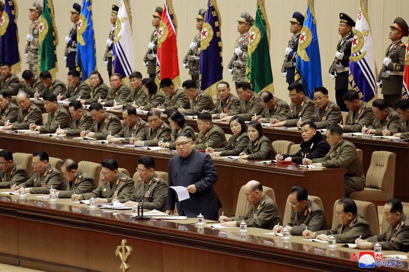 金正恩出席朝鮮人民軍連長、連政治指導員大會