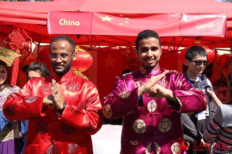 """埃及舉辦""""法老村""""國際文化節 中國展示受歡迎"""
