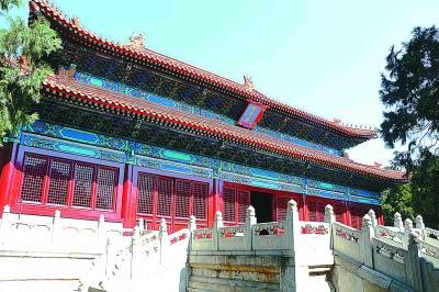 十三陵昭陵修繕完成恢復開放