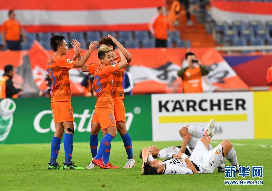 亞冠聯賽:山東魯能勝韓國慶南FC