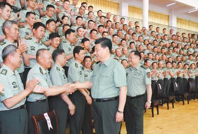習近平視察陸軍步兵學院:為強軍事業提供有力人才支持