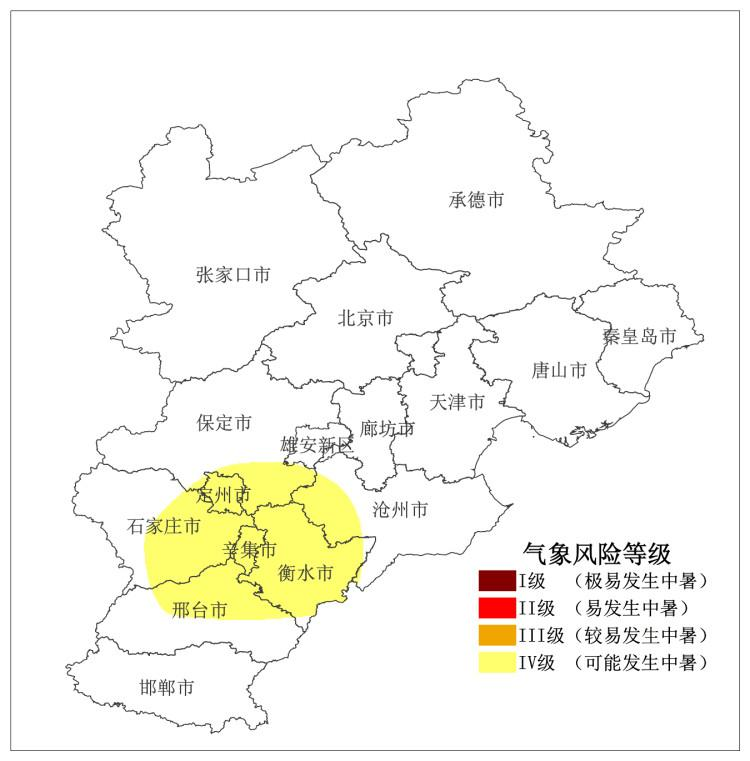 突破35°C!河北省氣象臺發布高溫橙色預警信號