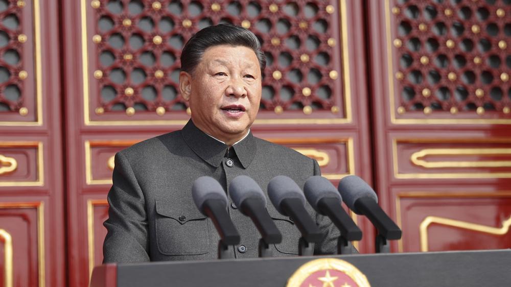 習近平在慶祝中華人民共和國成立70周年大會上發表重要講話