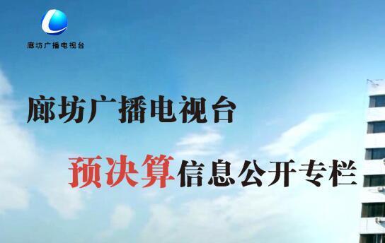 廊坊广播电视台预决算信息公开专栏