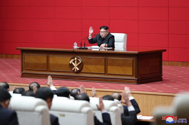 朝鮮勞動黨七屆四中全會舉行 強調自力更生發展經濟