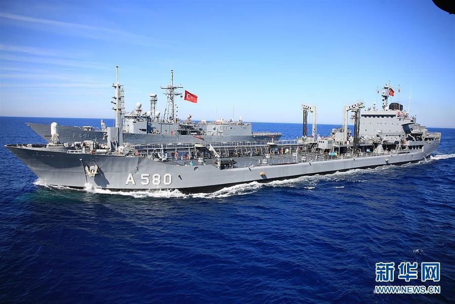 土耳其海军举办大年夜范围演习 百余艘军舰参演