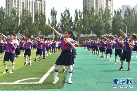 在习近平新时代中国特色社会主义思想指引下——新时代新作为新篇章·总书记关心的百姓身边事丨奔跑吧,少年!——体育让孩子们插上强壮的翅膀