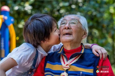 百岁红军的嘱托丨秦华礼:107岁老红军的青春气息