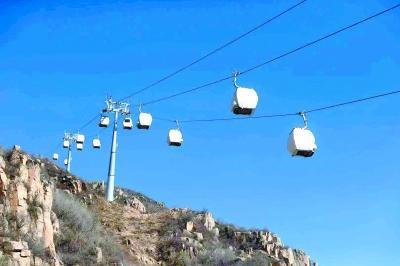 国家高山滑雪中心赛道完工 相关索道系统正调试