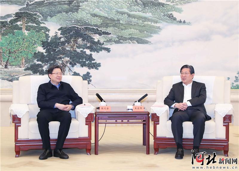 王东峰与中央一号文件贯彻落实情况第9督查组举行工作座谈