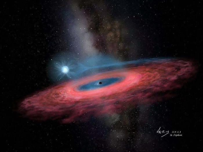 中国天文学家利用LAMOST发现迄今最大的恒星级黑洞