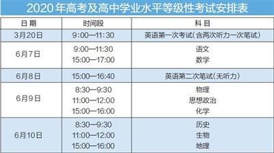 """天津明年""""新高考"""" 考试时间定了"""