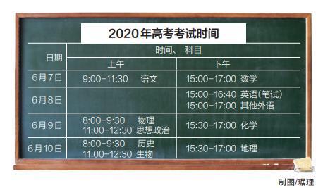 """今年北京高考时间变为4天 科目变为""""3+3选考""""模式"""