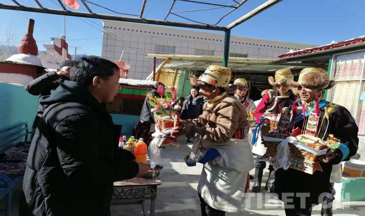【新春走基层】西藏加查:新春佳节念党恩感党恩