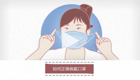 【公益广告】如何正确佩戴口罩