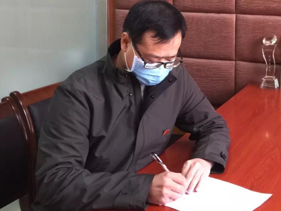 履职尽责保物资,全力以赴抗疫情—-记市妇幼保健中心副主任杜景林