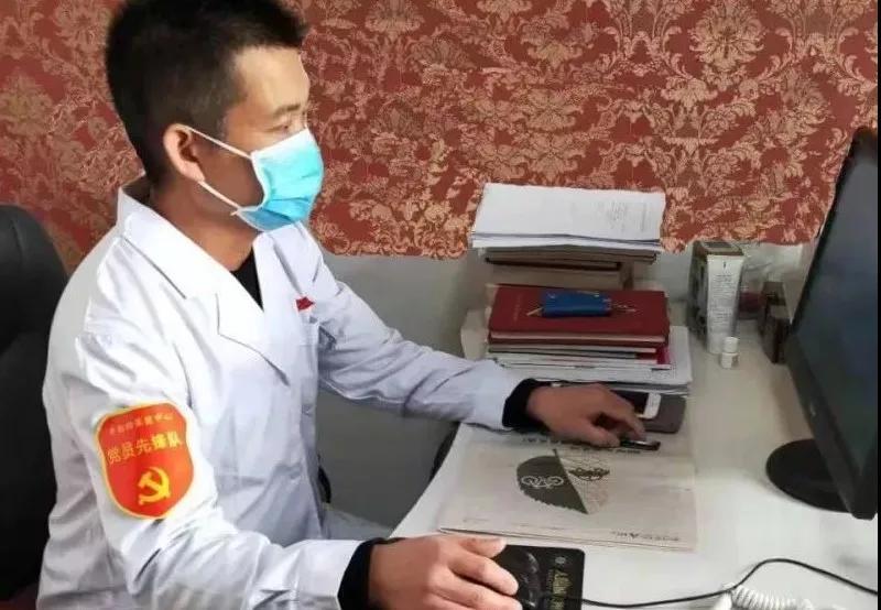 """退伍不褪色,战""""疫""""显担当——记战""""疫""""中的共产党员赵欣"""