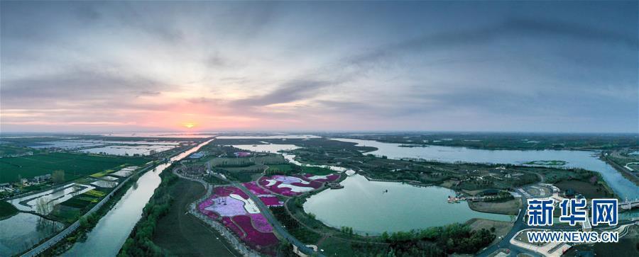 春和景明白马湖