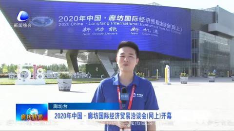 2020年中国·廊坊国际经济贸易洽谈会(网上)开幕