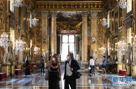 意大利罗马:科隆纳宫重新开放