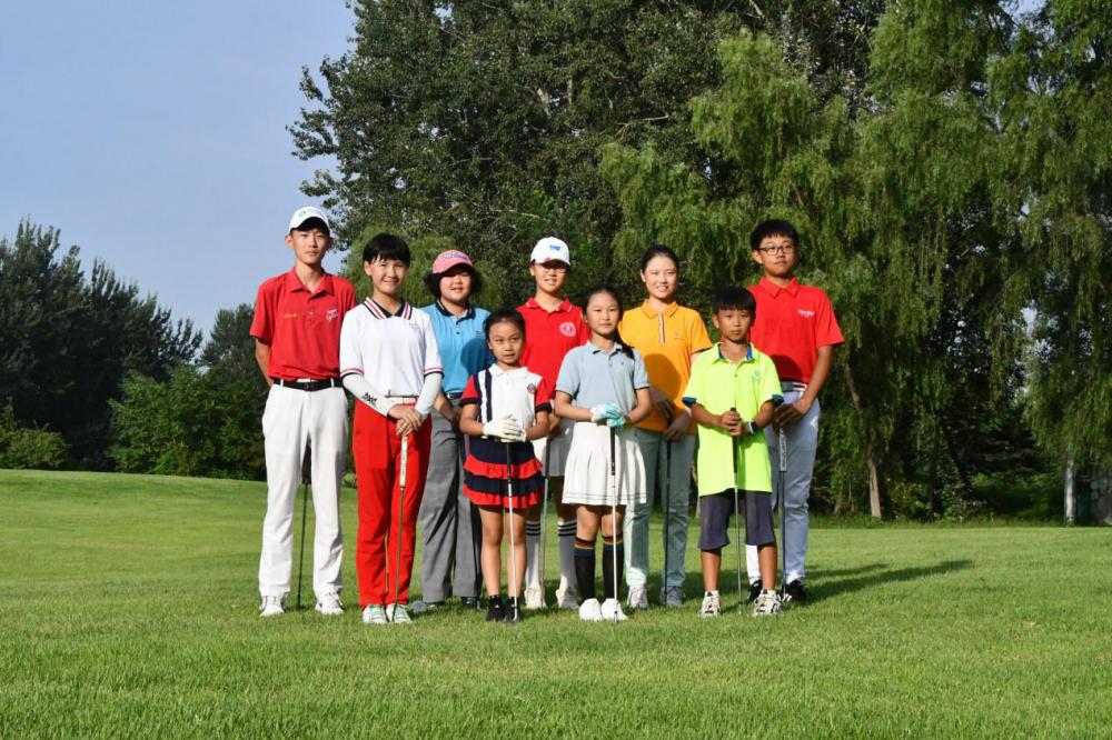 2020河北青少年高尔夫球锦标赛廊坊斩获4枚金牌