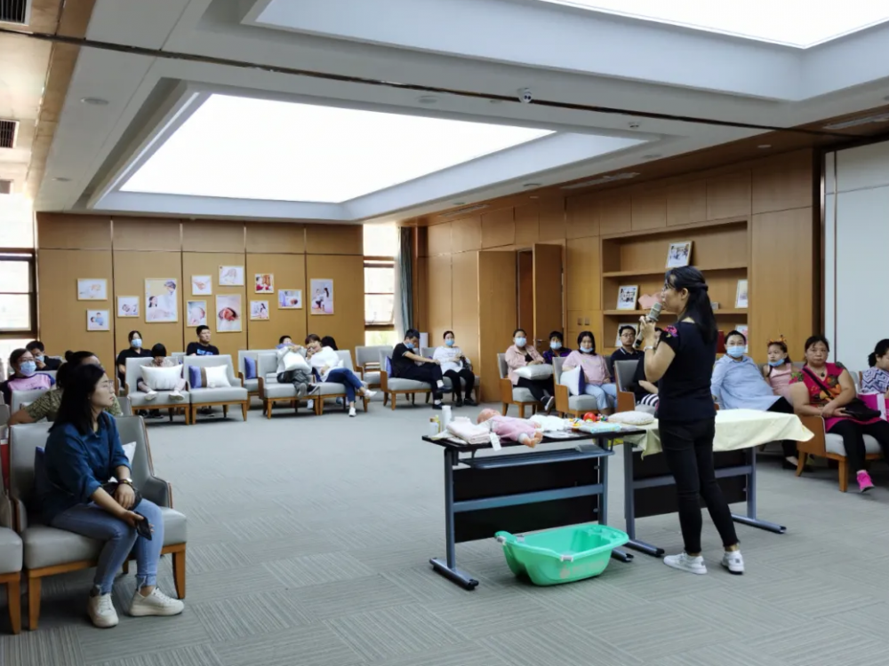 广安如意家孕妈课堂:新生儿护理训练营,新手爸妈秒变高手
