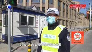 【零距离·交通】马虎家长丢孩子,幸遇交警来帮忙