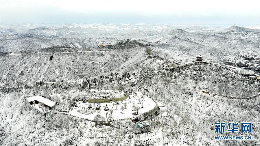 雪后延安美如画
