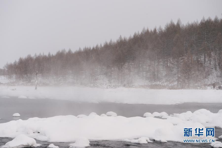 """内蒙古阿尔山:""""不冻河""""景美如画"""