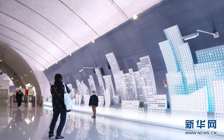 上海:探访最美地铁站