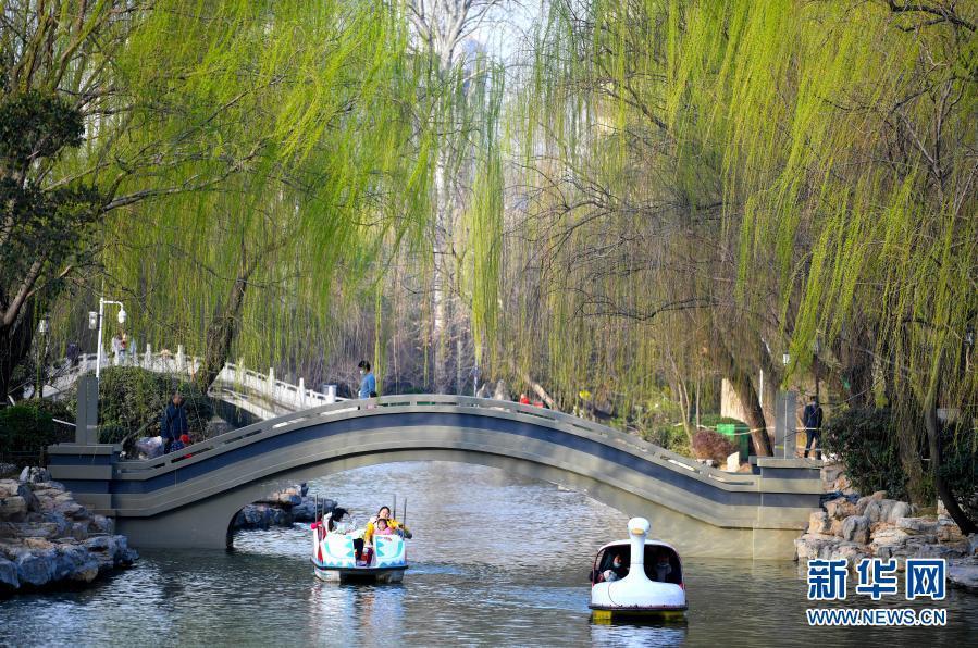 郑州:春暖花开