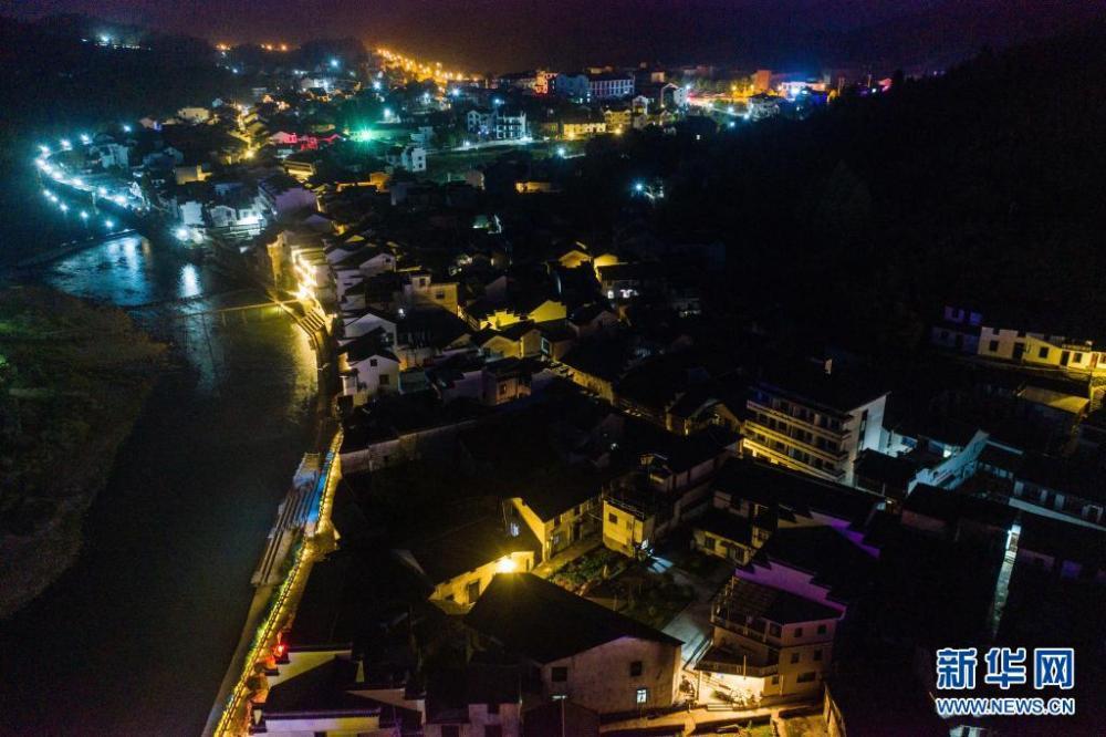 """旅游""""夜经济""""点亮美丽城镇""""夜版图"""""""