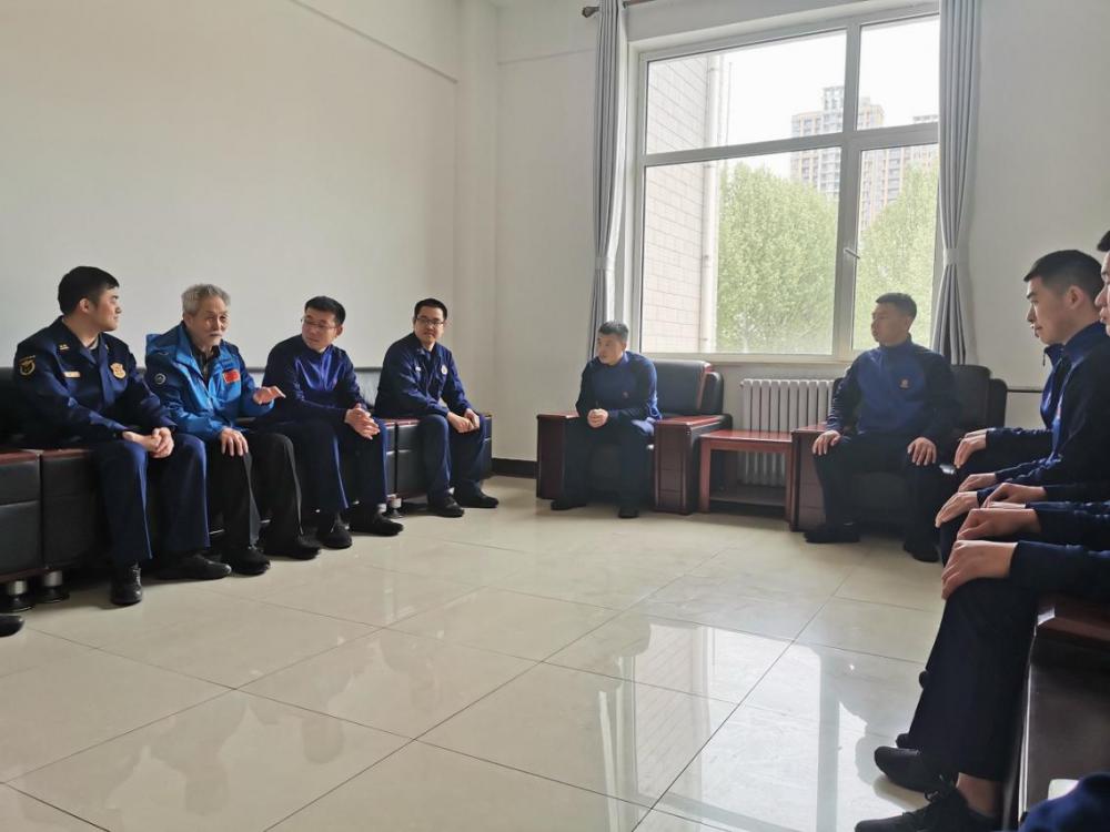 河北廊坊消防:書寫紅色經典 共憶百年黨史