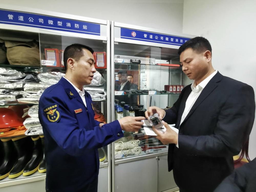 河北廊坊:消防進企業 排憂解難護安全