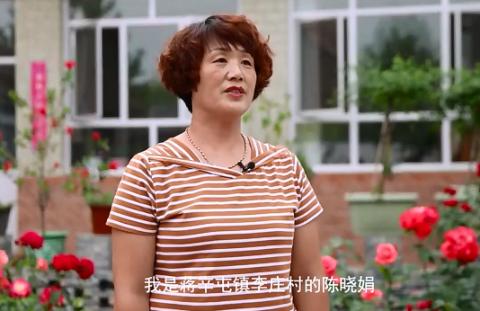 美丽庭院家庭为建党百年送祝福 | 陈晓娟