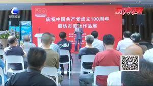 庆祝中国共产党成立100周年廊坊市美术作品展开幕