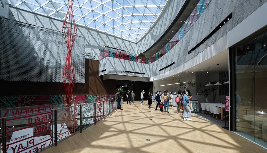 在公园逛街!北京推进老旧商业设施更新