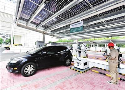 天津:津门湖新能源车综合服务中心启用